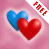 Hearts Dance 3D (free) icon