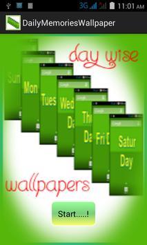 DailyMemoriesWallpaper poster