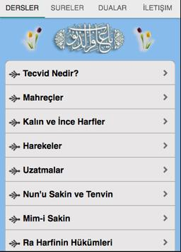 Kuran Tecvidi poster