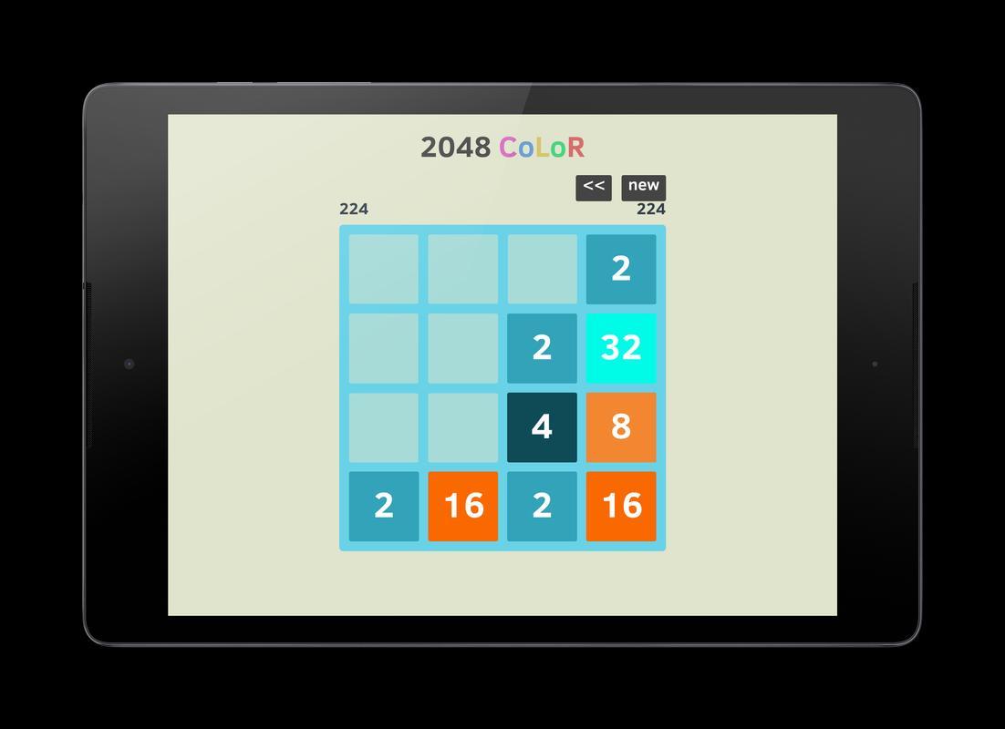 2048 Number Puzzle Game Colors APK डाउनलोड - एंडरॉयड ...