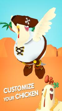 Oscar's Oasis - Flying Chicken apk screenshot