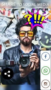 Man Beard And Hair Style apk screenshot