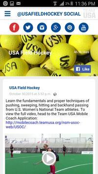 USA Field Hockey screenshot 4