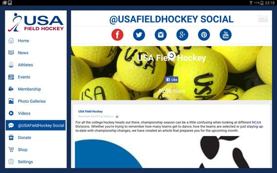 USA Field Hockey screenshot 7