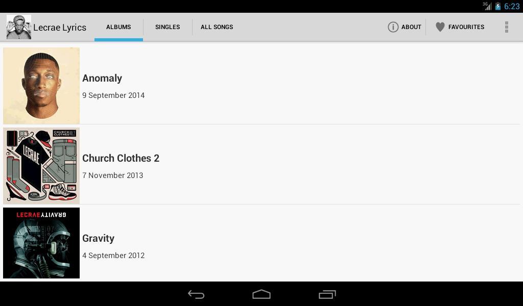 Lecrae Lyrics for Android - APK Download