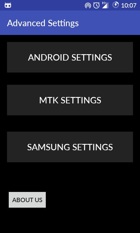 Advanced Settings(most devices for Android - APK Download