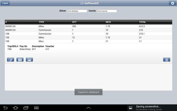 GoPhore Driver Settlement apk screenshot