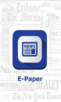 All India Newspaper / E-Paper poster
