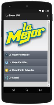 La Mejor FM apk screenshot