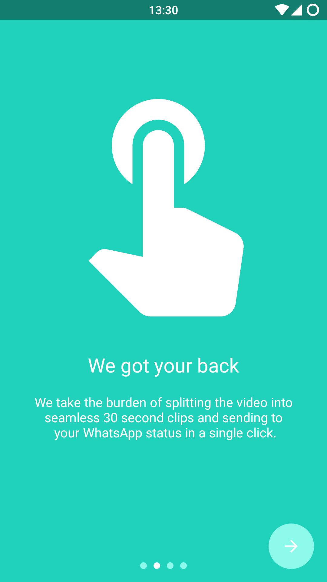 30 Sec Split Videos For Whatsapp Status For Android Apk