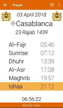 PRAYER: qibla , prayer times, athan, thicker screenshot 2
