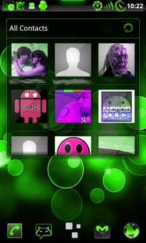 GOWidget Theme PoisnGreen-Free screenshot 5