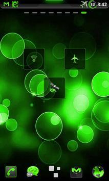 GOWidget Theme PoisnGreen-Free screenshot 6