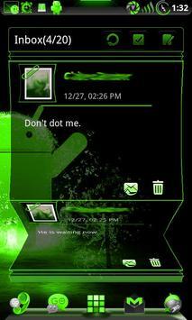 GOWidget Theme PoisnGreen-Free screenshot 7
