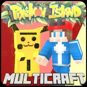 MultiCraft Go: Pixelmon island icon