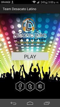 Team Desacato Radio poster