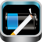 Battery Cigarette Widget icon