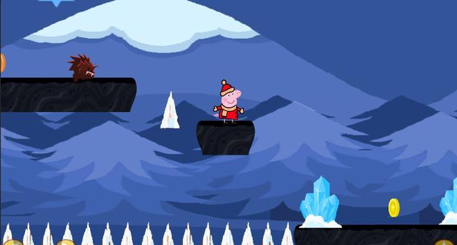 Peppa Pig Snowday screenshot 2