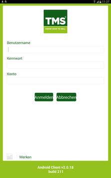 TMS Mobile apk screenshot