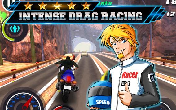 Dirt Bike 3D offroad Drag Race screenshot 2