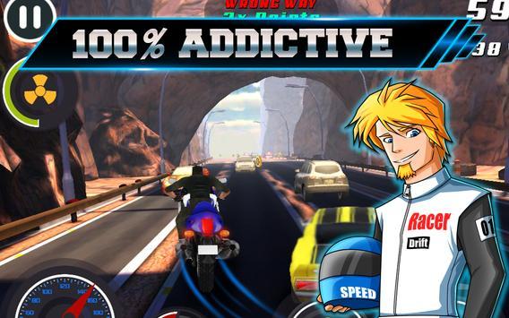 Dirt Bike 3D offroad Drag Race screenshot 7