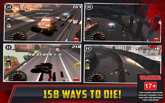Cop Car Crash Racing CSR Chase screenshot 5