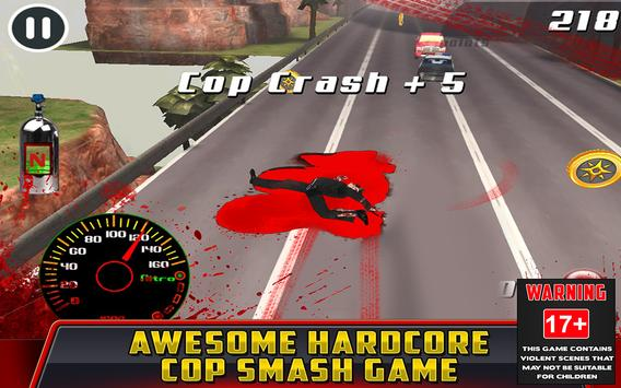 Cop Car Crash Racing CSR Chase screenshot 6