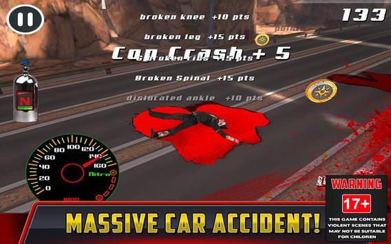 Cop Car Crash Racing CSR Chase screenshot 1