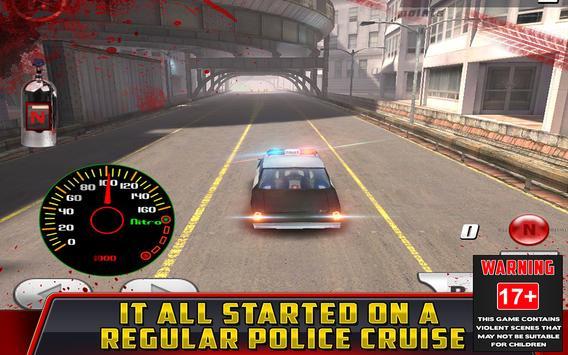 Cop Car Crash Racing CSR Chase screenshot 2