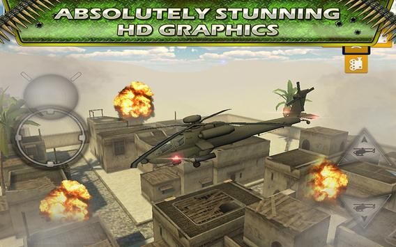 Fly Helicopter Battle Parking screenshot 3