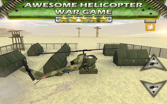 Fly Helicopter Battle Parking poster