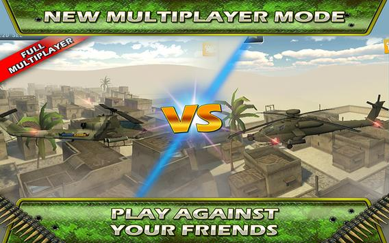 Fly Helicopter Battle Parking screenshot 13