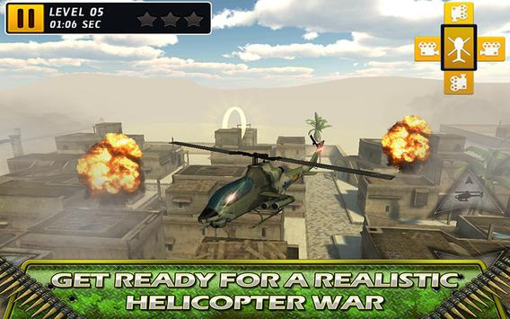 Fly Helicopter Battle Parking screenshot 4