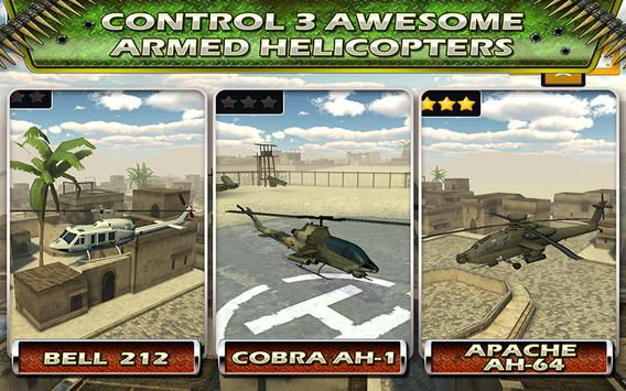Fly Helicopter Battle Parking screenshot 9