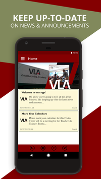 Virtual Learning Academy poster