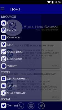 Yuma High School apk screenshot