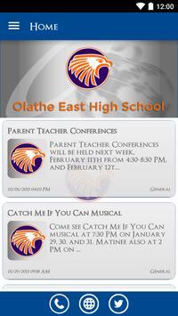 Olathe East High School poster