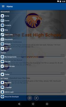 Olathe East High School apk screenshot