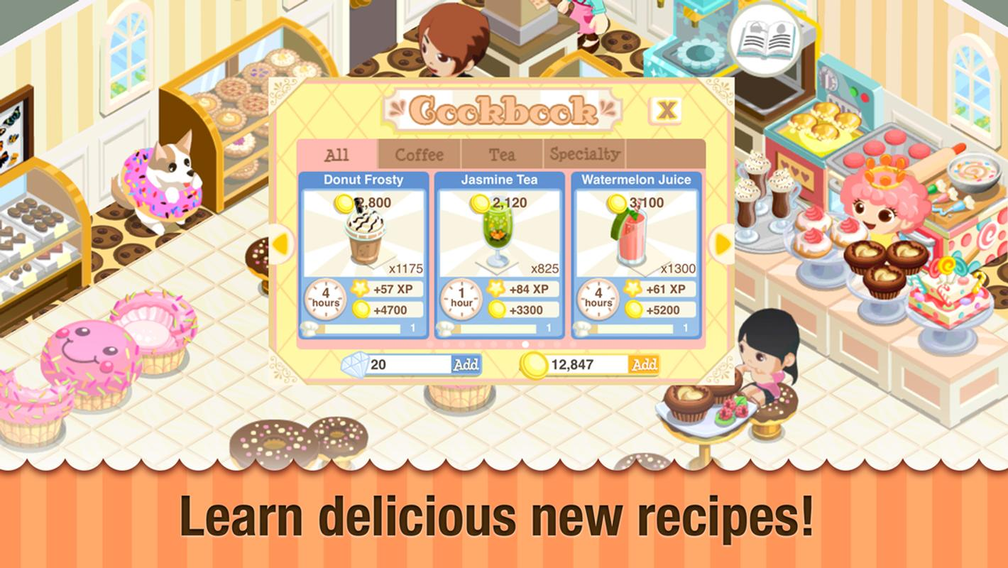 Bakery Story Double Rainbow Apk Download Free Casual