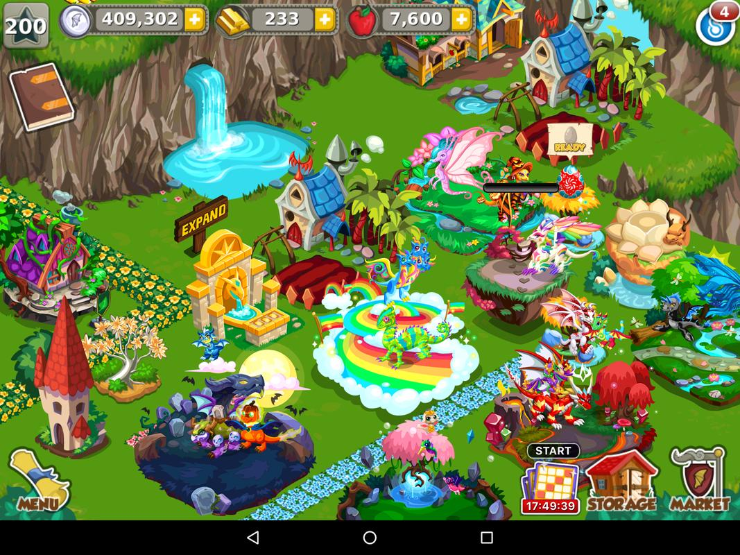 Dragon Stories Game