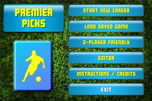 Premier Picks - Soccer Cards apk screenshot