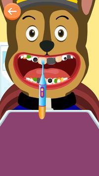 Paw Dentist Puppy poster