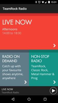 TeamRock Radio poster