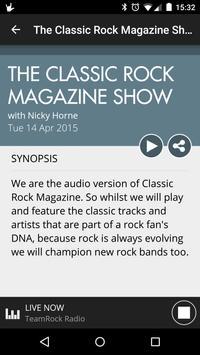TeamRock Radio скриншот 2