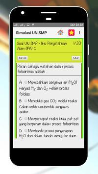 Tryout Soal UN SMP/Mts 2018 screenshot 2