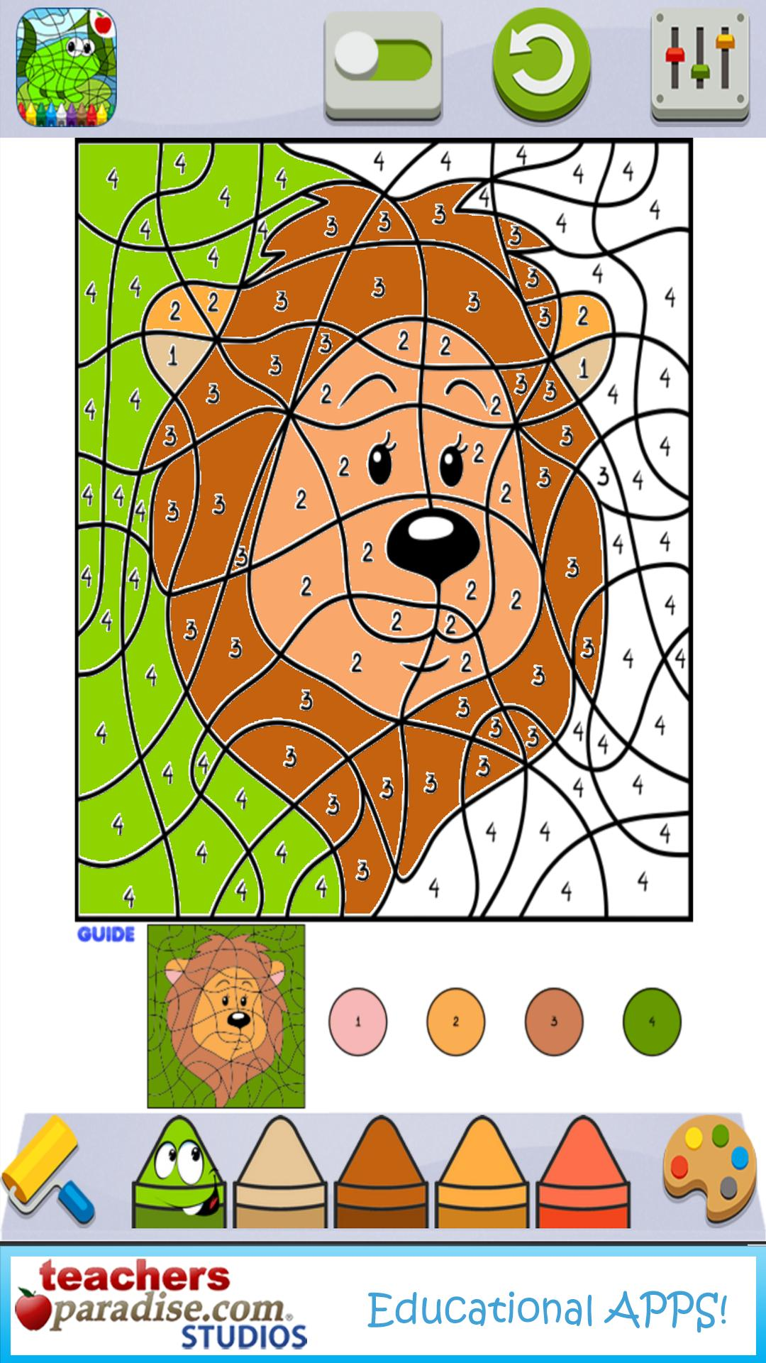 Color By Numbers - Art Game for Kids and Adults for ...