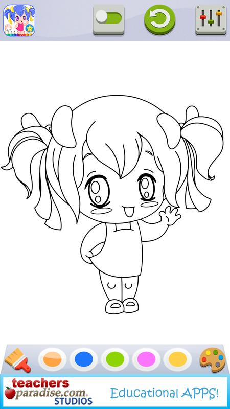 Anime Manga Coloring Book Game for Android - APK Download