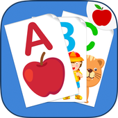 ABC Flash Cards Game for Kids & Adults icon