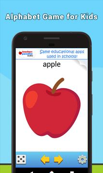 ABC Flash Cards Game for Kids & Adults screenshot 18