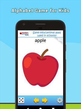 ABC Flash Cards Game for Kids & Adults screenshot 10